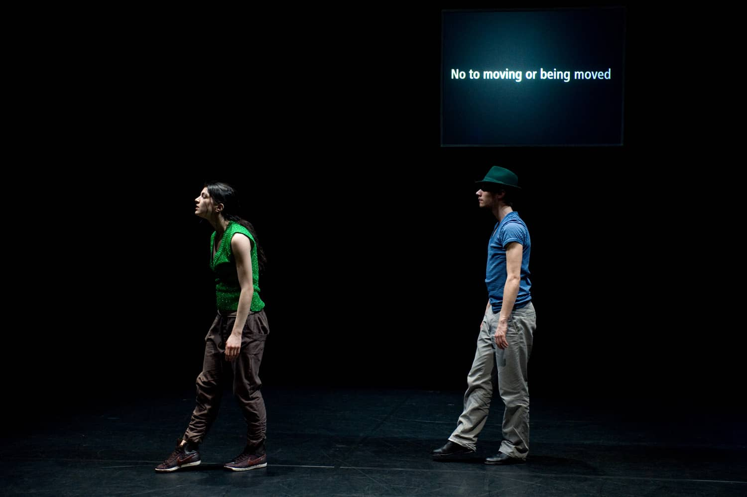 After Trio A by Andrea Bozic in collaboration with Julia Willms