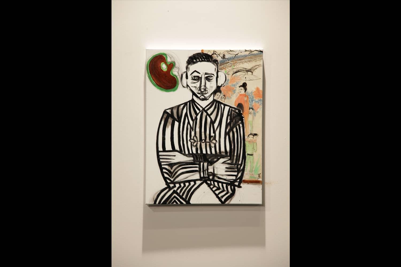 Portraits at exhibition 1917 at Centre Pompidou Metz